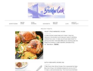 thebrooklyncook.com screenshot