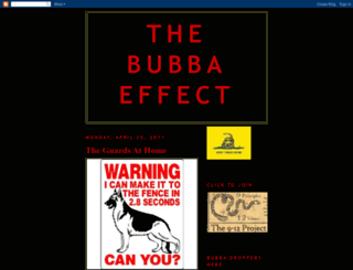 thebubbaeffect.blogspot.com screenshot