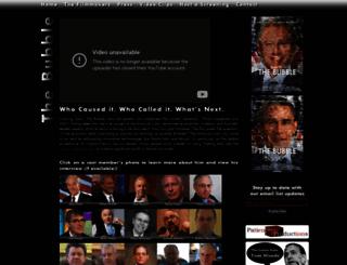 thebubblefilm.com screenshot