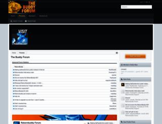 thebuddyforum.com screenshot