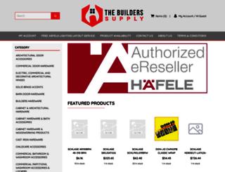 thebuilderssupply.com screenshot