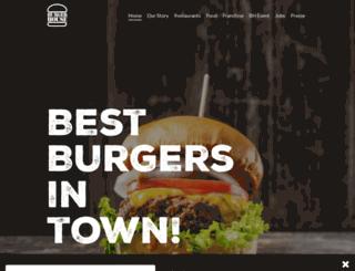 theburgerhouse.com screenshot