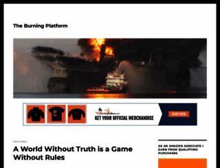 theburningplatform.com screenshot