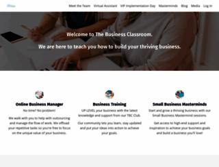thebusinessclassroom.com.au screenshot
