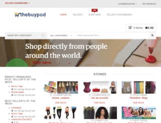 thebuypod.com screenshot