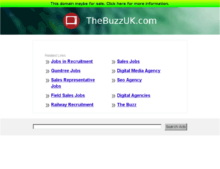 thebuzzuk.com screenshot