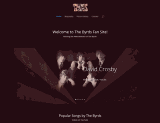 thebyrds.com screenshot
