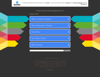 thebyrdsandthebeegees.com screenshot