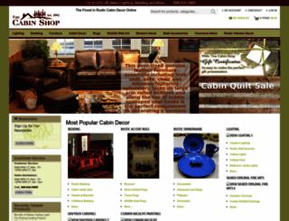 thecabinshop.com screenshot