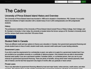 thecadre.ca screenshot