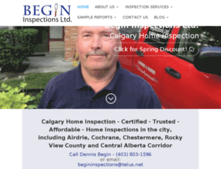 thecalgaryhomeinspection.com screenshot