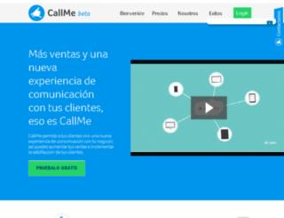 thecallme.com screenshot