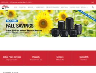 thecamerashoponline.com screenshot