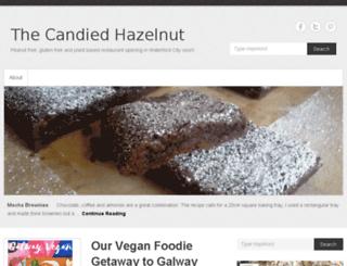 thecandiedhazelnut.com screenshot