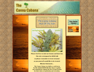 thecannacabana.com screenshot