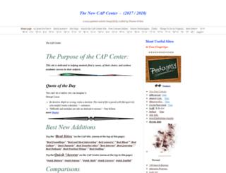 thecapcenter.com screenshot