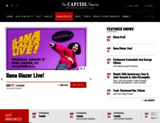 thecapitoltheatre.com screenshot