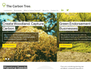 thecarbontree.com screenshot