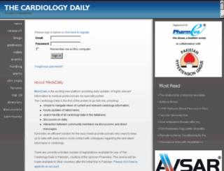 thecardiologydaily.com screenshot
