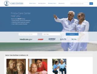 thecarecenters.com screenshot