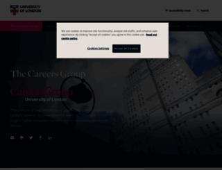 thecareersgroup.co.uk screenshot