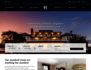 thecarrington.com.au screenshot