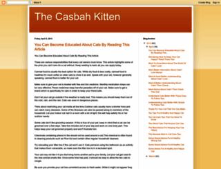 thecasbahkitten.blogspot.com screenshot
