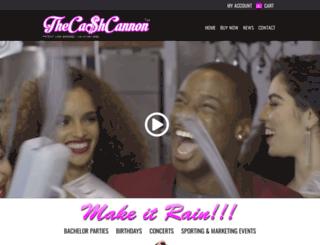 thecashcannon.com screenshot