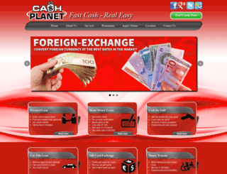 thecashplanet.ca screenshot
