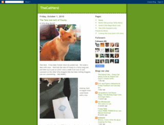 thecatherd.blogspot.com screenshot