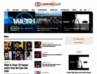 thecelebritycafe.com screenshot