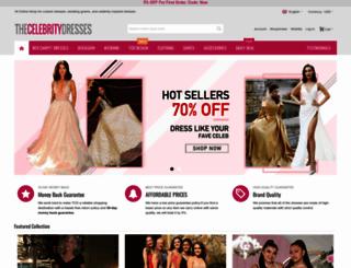 thecelebritydresses.com screenshot