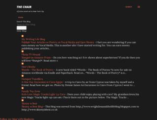 thechairbydeniselarkin.blogspot.co.uk screenshot