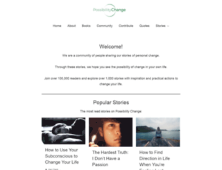 thechangeblog.com screenshot