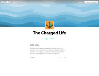thechargedlife.tumblr.com screenshot