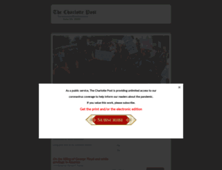 thecharlottepost.com screenshot