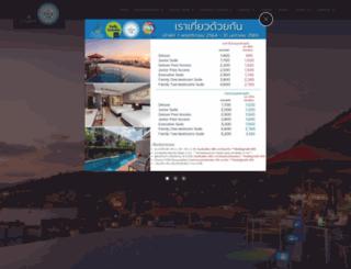 thecharmresortphuket.com screenshot