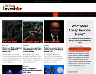 thecheapinvestor.com screenshot