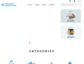 thecheaponlinestore.com screenshot