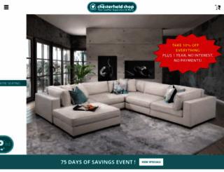 thechesterfieldshop.com screenshot