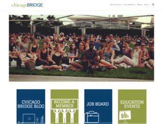 thechicagobridge.org screenshot