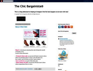 thechicbargainista.com screenshot