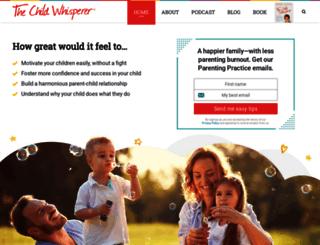 thechildwhisperer.com screenshot