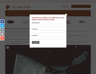 thechocolatebelles.com screenshot