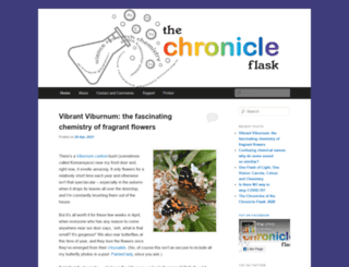 thechronicleflask.wordpress.com screenshot