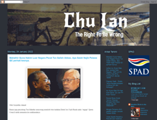 thechulan.blogspot.com screenshot