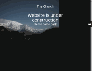 thechurchsight.com screenshot