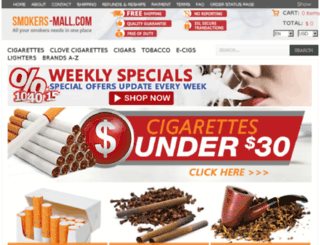 thecigaretteshop.net screenshot