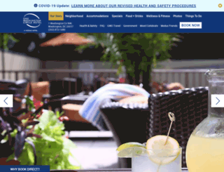 thecirclehotel.com screenshot