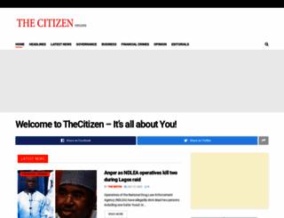 thecitizenng.com screenshot